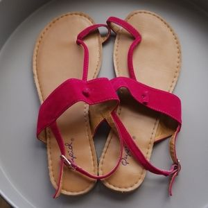 Cute cupid sandals. Bought from charming Charlies.